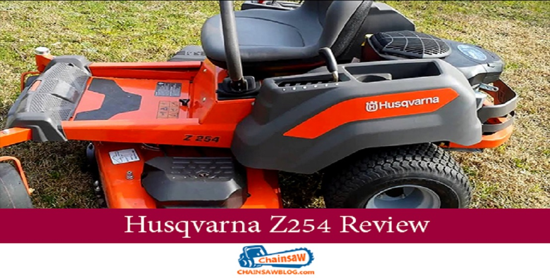 Husqvarna Z254 Review