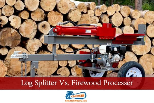 Log Splitter Vs. Firewood Processer