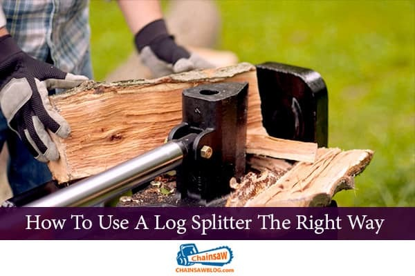 Use Log Splitter The Right Way